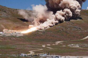 Не согласны на батуты: в США показали ход создания и испытаний новой ракеты OmegA