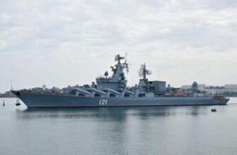 Крейсер «Москва» покинет док в конце июня