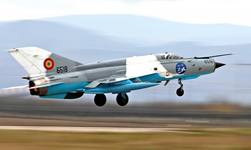 «Почему F-16 остались на земле?»: румыны недовольны перехватом Ту-22М3 старыми МиГ-21