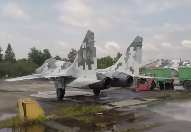 На Украине проводят испытательные пуски ракет «воздух-поверхность» с МиГ-29МУ2