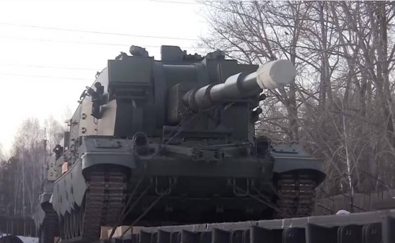 Партия САУ «Коалиция-СВ» поступила на вооружение Сухопутных войск