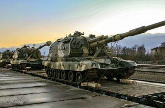 Партия модернизированных САУ «Мста-С» передана в войска