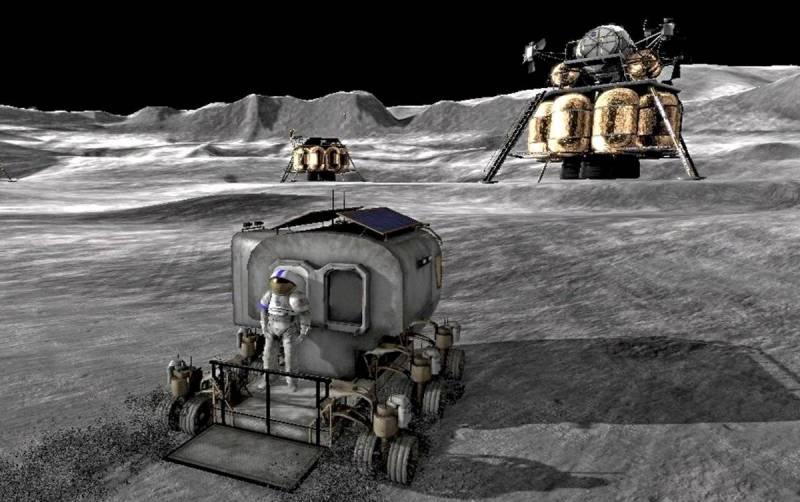 В России разработали энергетическую установку для будущей базы на Луне
