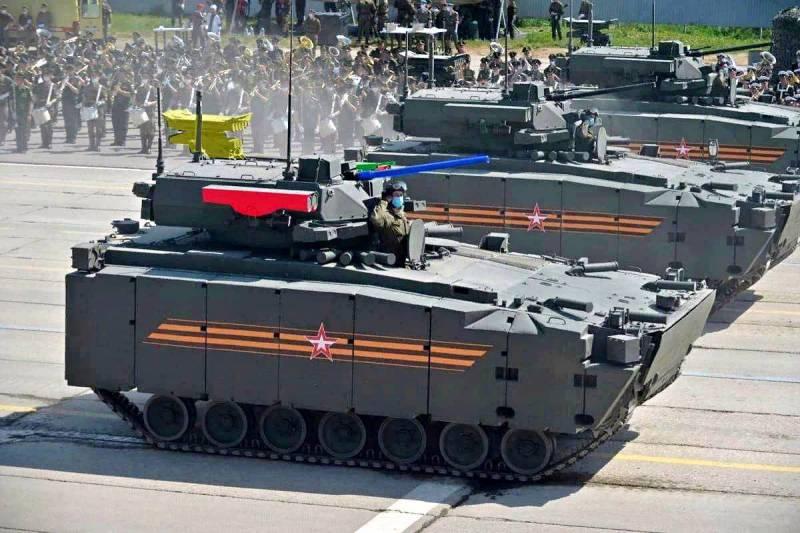 В сети обсуждается новейшая версия БМП «Курганец-25» с комплексом «Булат» и 57-мм пушкой