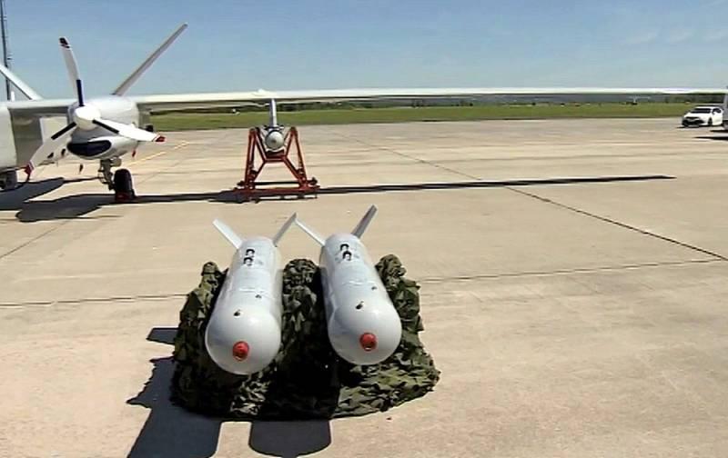 На БПЛА «Альтаир» подвесили бомбы