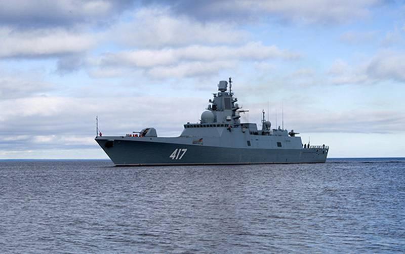 Фрегат «Адмирал Горшков» начинает второй этап испытаний гиперзвукового «Циркона»