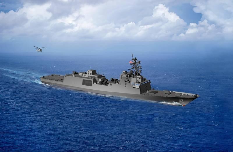 Пентагон раскрыл некоторые детали вооружения нового фрегата FFG (X)