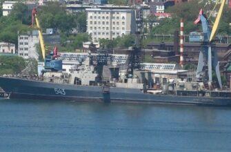 Работы по модернизации фрегата «Маршал Шапошников»