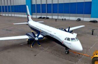 Завершается сборка первого Ил-114-300 новой серии