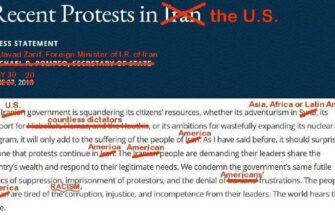 МИД Ирана эффектно потроллил США
