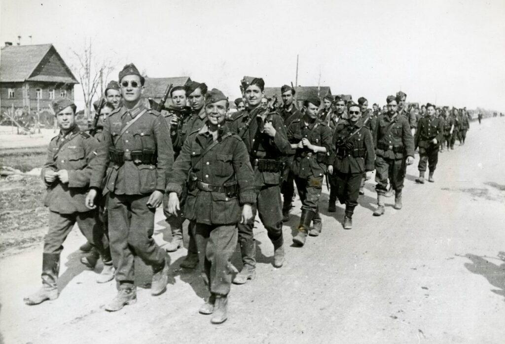 Испанцы гордятся, что участвовали в блокаде Ленинграда