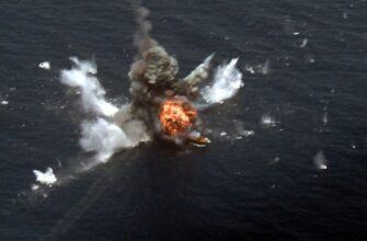 Испытание новой иранской противокорабельной ракеты