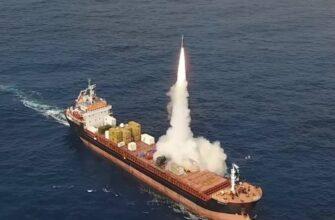 Израиль испытал оперативно-тактическую ракету LORA, разместив на гражданском судне