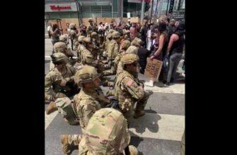 Это позор Национальной гвардии США