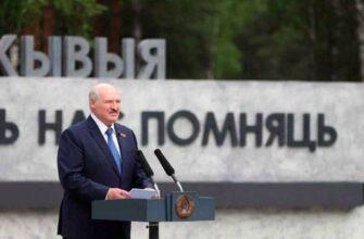 «Двенадцать Хатыней»: Лукашенко открыл мемориал на месте сожжённой нацистами деревни Ола
