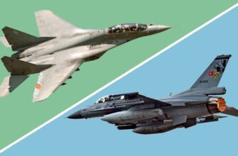 Воздушный бой МиГ-29 и F-16: кто одержит победу в небе Ливии