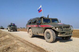 Взрыв прогремел на пути колонны российской военной полиции в Сирии