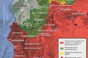 Наступательная активность боевиков в Идлибе