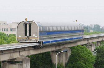 Модернизированная версия «поезда» «Маглев» в Китае превысила скорость в 600 км/ч