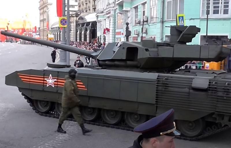 Sohu: Танк Т-14 «Армата» может стать настоящей жемчужиной для Индии