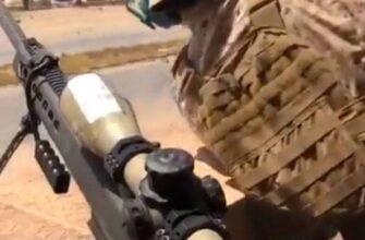Показана устроенная для сил маршала Хафтара засада к югу от Триполи