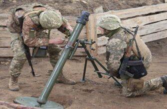 Вооруженные силы Украины обстреляли окрестности Горловки