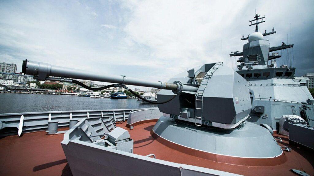 Управляемые снаряды для корабельной артиллерии