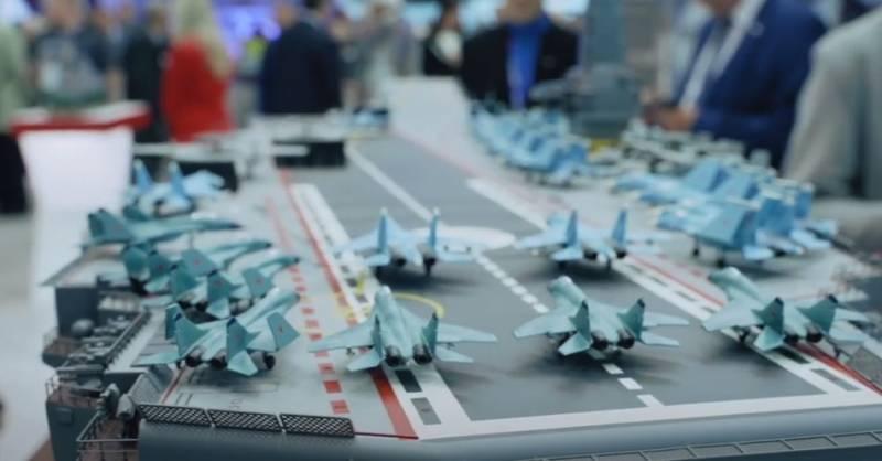 В составе ВМФ РФ могут оказаться и «Адмирал Кузнецов», и авианосец проекта 23000 «Шторм» с ЗРК С-500