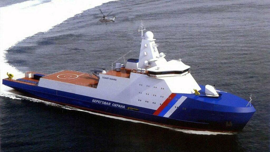 Заложен пограничный патрульный корабль для Арктики