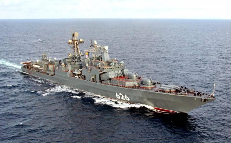 Сразу два боевых корабля сопровождают суда для «Северного потока-2»