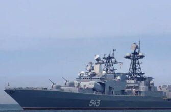 Проходящий модернизацию «Маршал Шапошников» вышел на ходовые испытания