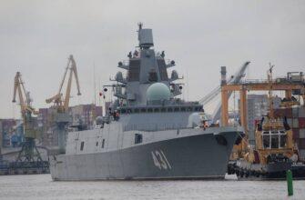 Первый серийный фрегат проекта 22350 «Адмирал Касатонов» передан флоту
