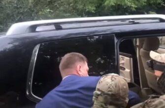 Губернатора Хабаровского края задержали за организацию покушений и убийств