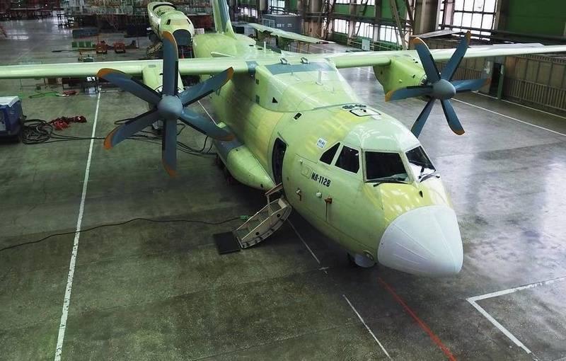 В ЦАГИ сообщили сроки окончания ресурсных испытаний самолёта Ил-112В
