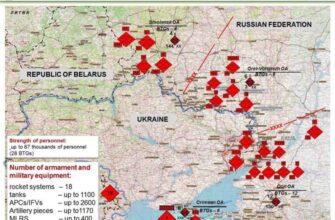 «Украина взята в кольцо»: Россия развернула на границах 1600 танков и 330 самолетов