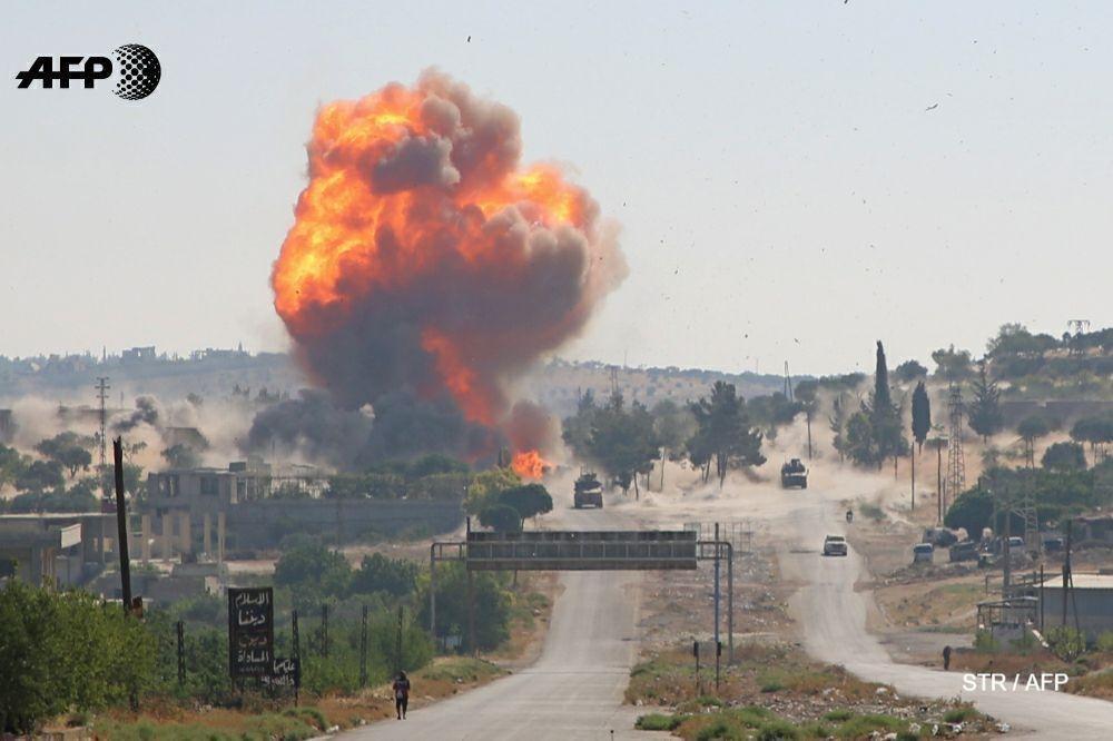 Про взрыв российско-турецкого патруля в Идлибе