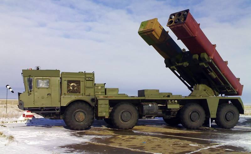 На что способен обновлённый боекомплект РСЗО «Торнадо-С»? Версии реактивных снарядов 9М528 и 9М542