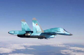 Модернизированный Су-34 поступил в авиационный полк ЗВО