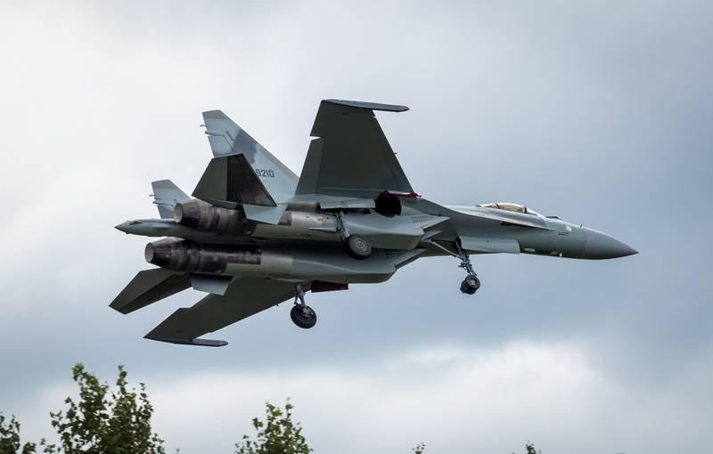 Первая партия истребителей Су-35 для Египта вылетела из Комсомольска-на-Амуре