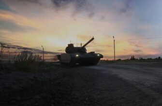 Танк Т-14 «Армата» испытали в «беспилотном» варианте