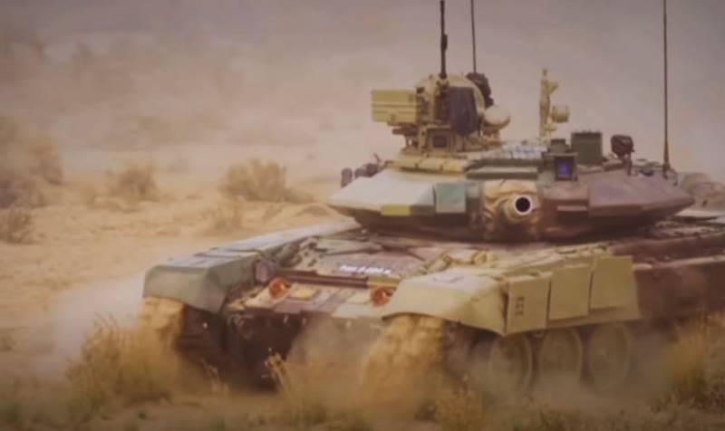 Индия закупит дополнительное оборудование для танков Т-90С