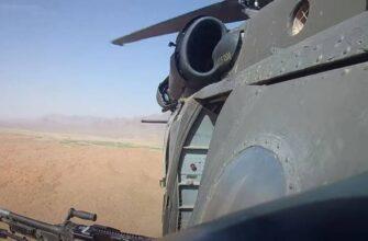 В Афганистане сбит вертолёт Black Hawk с применением ПТУР