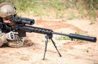 Израильская снайперская винтовка IWI DAN .338