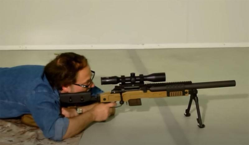 Сравнение снайперской винтовки SPR300 с российскими «Винторезом» и ДВЛ-10М «Диверсант» по бесшумности