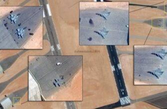 Спутниковые снимки показывают масштабы развертывания египетской авиации возле Ливии