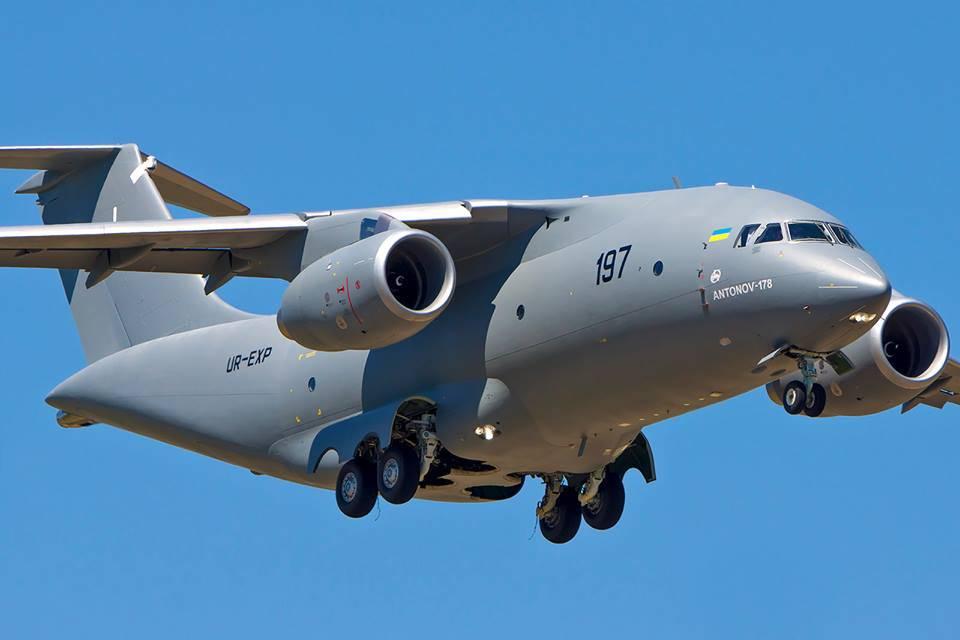 Незалежна стремятся начать производство Ан-178 в Турции