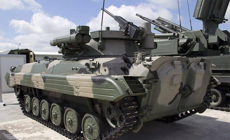Участникам соревнований «Суворовский натиск» предоставят новые БМП-2М
