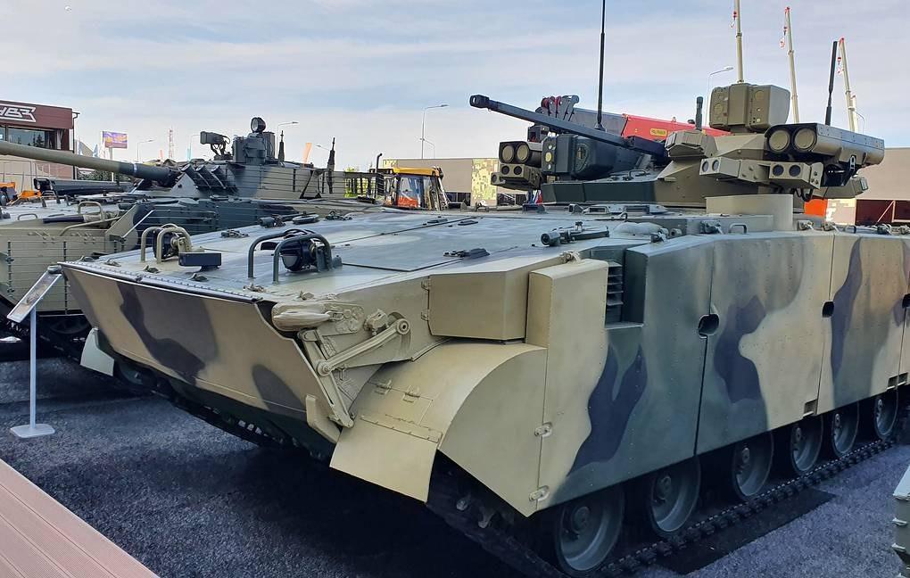 БМП Манул представили на форуме Армия-2020