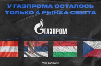 Россия теряет европейский газовый рынок