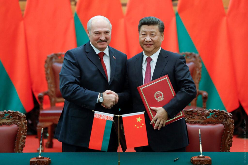 О китайских экономических позиция в Белоруссии